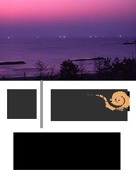 色とりどり四季の夕日